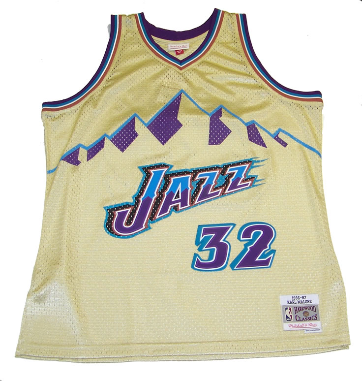 brand new d0c22 085e0 NBA Authentic Utah Jazz Gold Swingman Jersey, Hookup Fashions