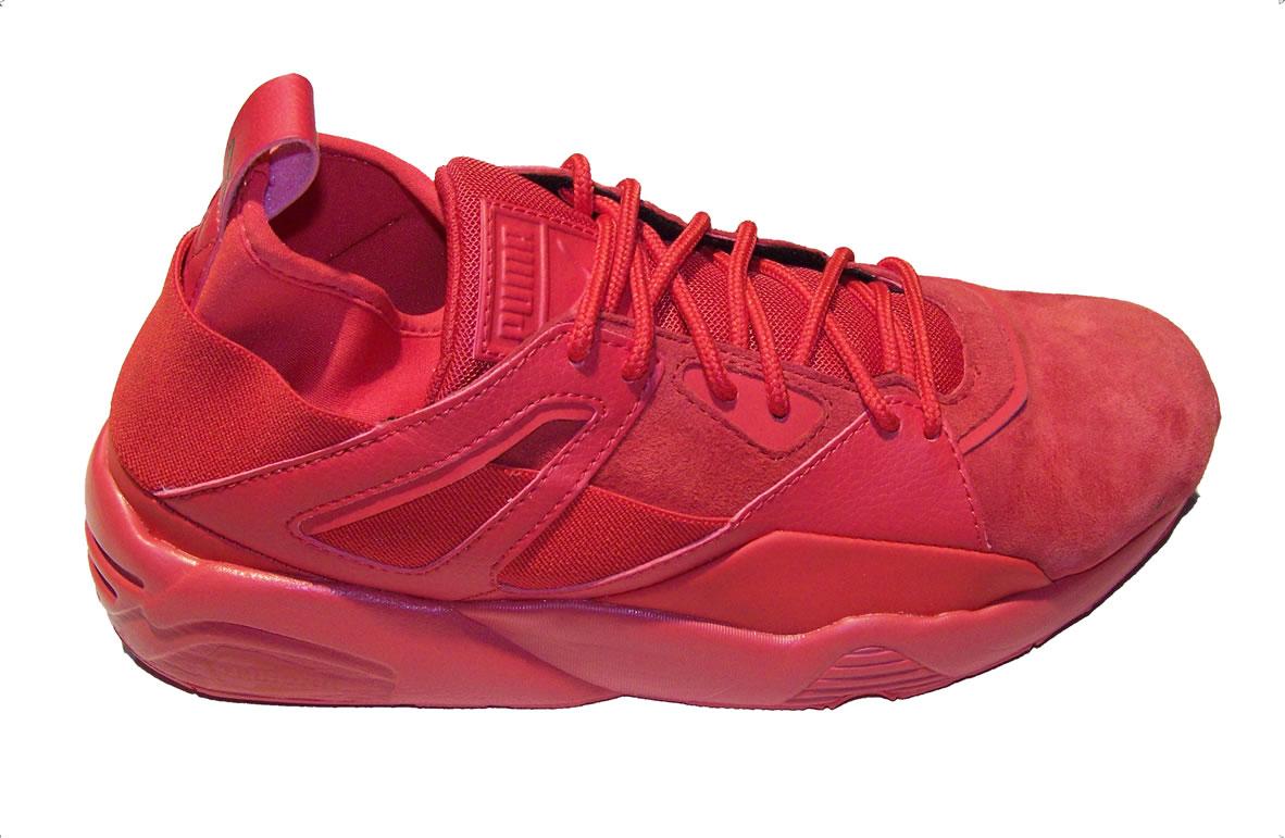 brand new cac0c 9b92e Puma Blaze of Glory Sock Core RED, Hookup Fashions