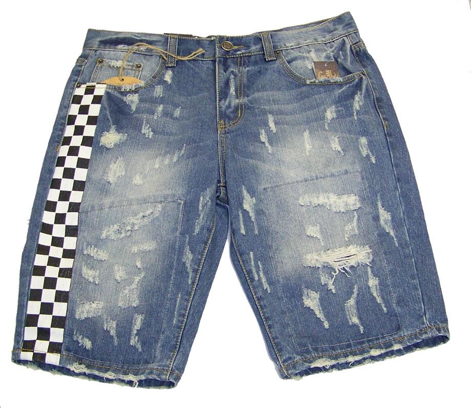 Vintage Americana Denim Shorts IndigoVA WB 231 Hookup Fashions