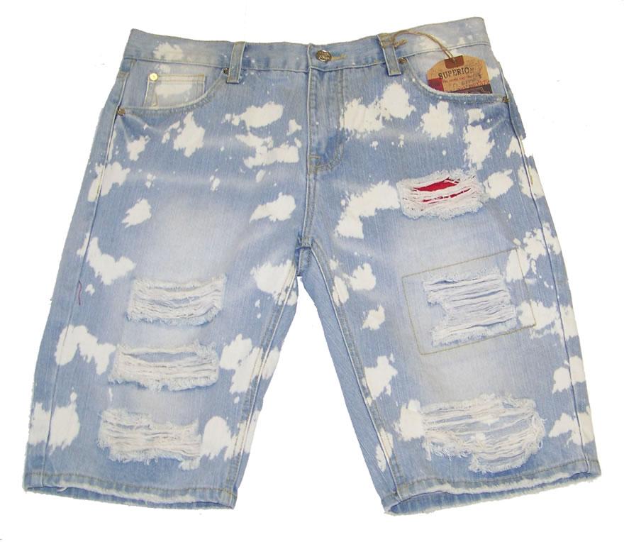 Vintage Americana Denim Shorts LtIndigoVA WB 237 Hookup Fashions